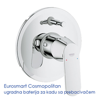 GROHE EUROSMART COSMOPOLITAN BATERIJA ZA KADU