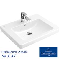 VILLEROY & BOCH SUBWAY 2.0 LAVABO 60 X 47