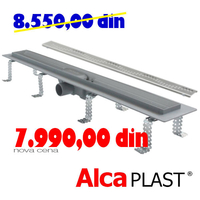 ALCA PLAST	KANALNA RESETKA ALL-KO  APZ 8 - 650 mm
