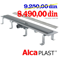 ALCA PLAST	KANALNA RESETKA ALL-KO  APZ 8 - 750 mm