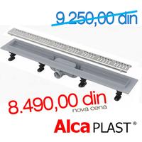 ALCA PLASTKANALNA RESETKA ALL-KO APZ 10 - 750 mm