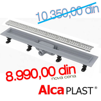 ALCA PLAST	KANALNA RESETKA ALL-KO APZ 10 - 850 mm