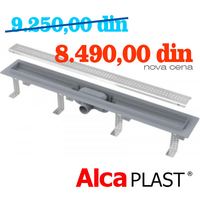 ALCA PLAST	KANALNA RESETKA ALL-KO  APZ 9 - 750 mm