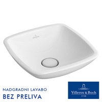 VILLEROY & BOCH LOOP & FRIENDS LAVABO 43 X 43