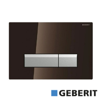 GEBERIT	TASTER SIGMA 40 BRAON STAKLO ZA DUO FRESH 115.600.SQ.1