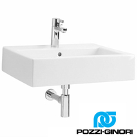 POZZI-GINORI	CLOSER RECTANGULAR LAVABO 60