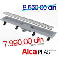 ALCA PLASTKANALNA RESETKA ALL-KO  APZ10 - 650 mm